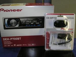Pioneer DEH-P700BT Pioneer CD-SR110