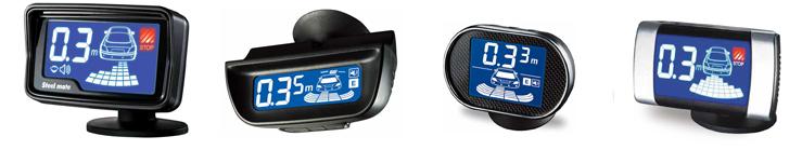 Устанавливаются только на задний бампер автомобиля позволяя информировать автолюбителя о приближении к препятствию по каждому из 4 датчиков дает информацию на дисплей о дистанции к препятствию по какой стороне и по какому датчику с звуковым сопровождением